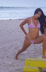 TAO WICKRATH in Bikini at a Beach in Miami 08/28/2019