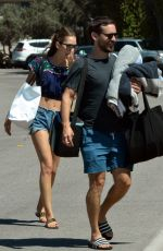 TATIANA DIETEMAN and Tobey Maguire Out in Malibu 08/21/2019