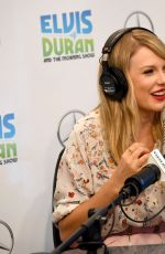 TAYLOR SWIFT at Elvis Duran Z100 Morning Show in New York 08/21/2019