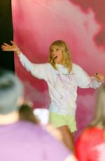 TAYLOR SWIFT at Her The Lover Experience Pop Up Shop in New York 08/24/2019