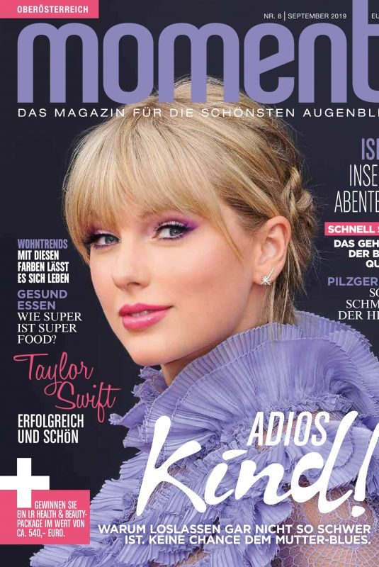 TAYLOR SWIFT in Moments Magazine, August 2019