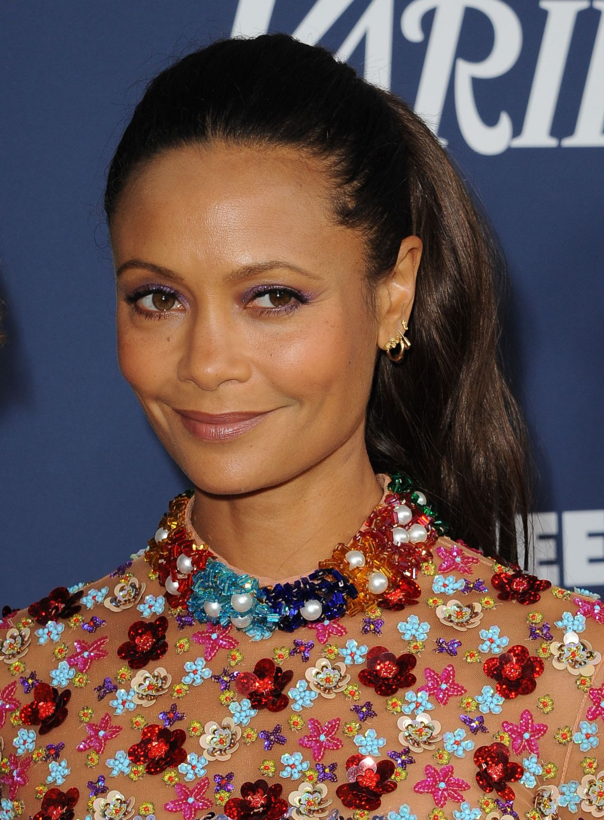 THANDIE NEWTON at 23rd Annual Screen Actors Guild Awards