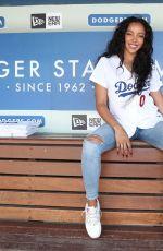 TINASHE at Dodger Stadium in Los Angeles 08/25/2019