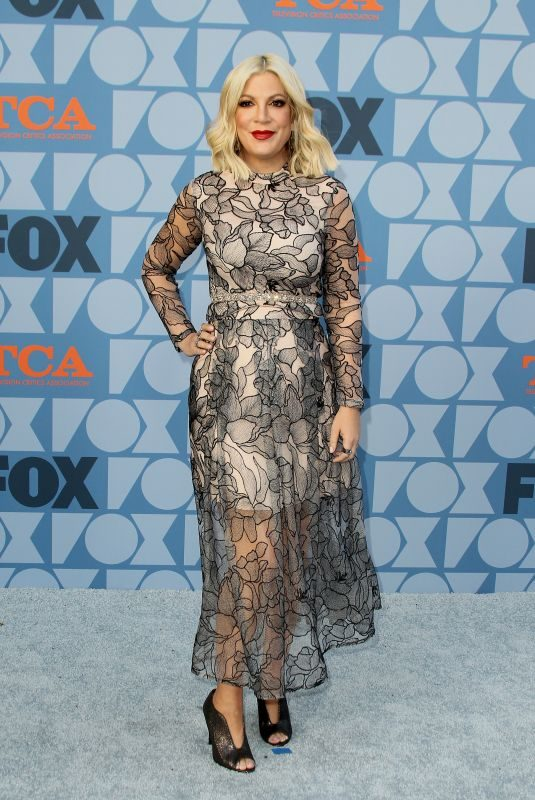 TORI SPELLING at Fox Summer TCA All-star Party in Beverly Hills 08/07/2019