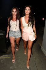 TULISA CONTOSTAVLOS at Menagerie Bar and Restaurant in Manchester 08/25/2019