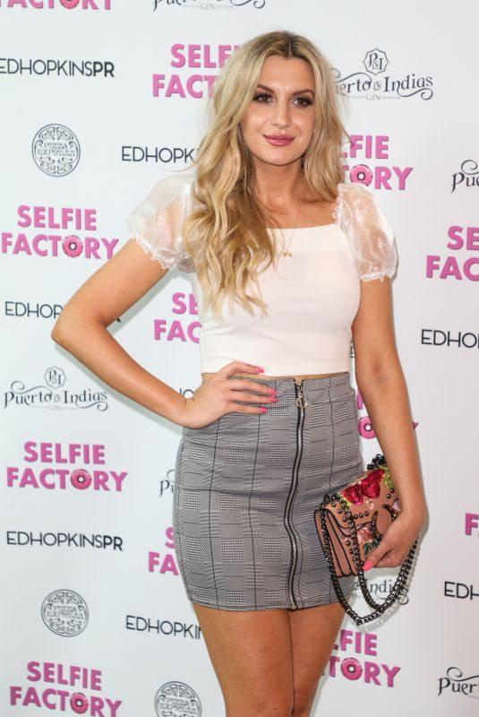 VICTORIA BROWN at Media Night at Selfie Factory in London 07/30/2019