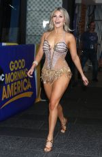 WITNEY CARSON Arrives at Good Morning America in New York 08/21/2019