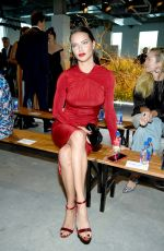 ADRIANA LIMA at Jason Wu Fashion Show in New York 09/08/2019