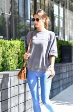 ALESSANDRA AMBROSIO Arrives at Yoga Class in Los Angeles 09/18/2019
