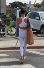 ALESSANDRA AMBROSIO Out for Morning Yoga Class at Yogaworks in Santa Monica 09/13/2019