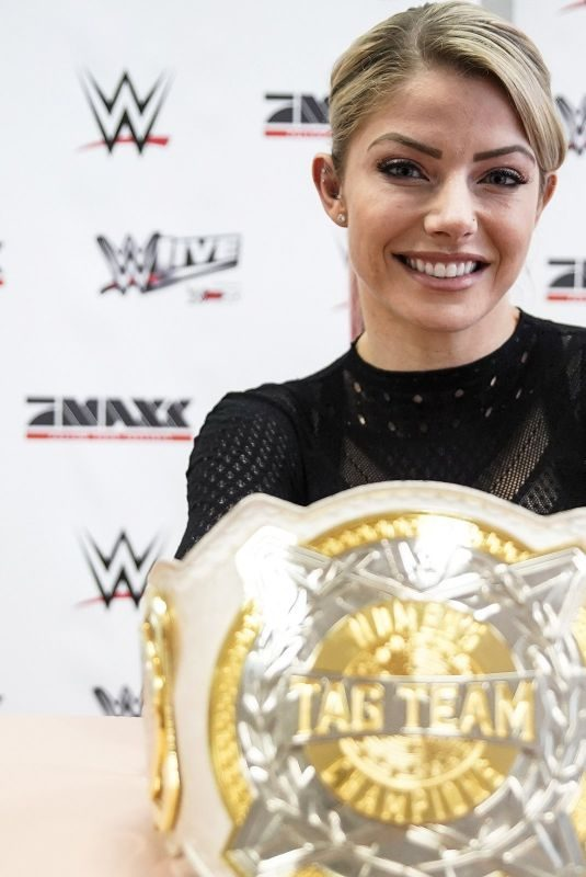 ALEXA BLISS at WWE Promo Tour in Germany 09/25/2019