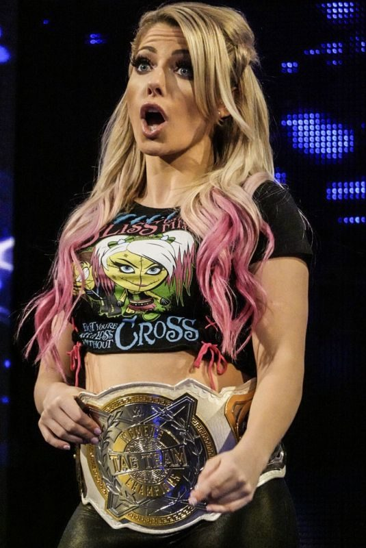 ALEXA BLISS at WWE Smackdown at Madison Square Garden in New York 09/10/2019
