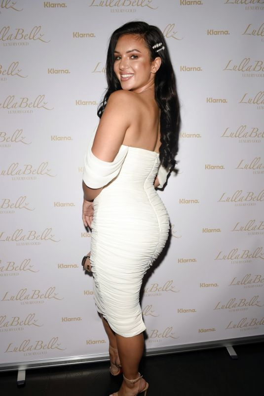 ALEXANDRA CANE at Lullabellz Klarna Human Hair Extensions Launch in Manchester 09/19/2019