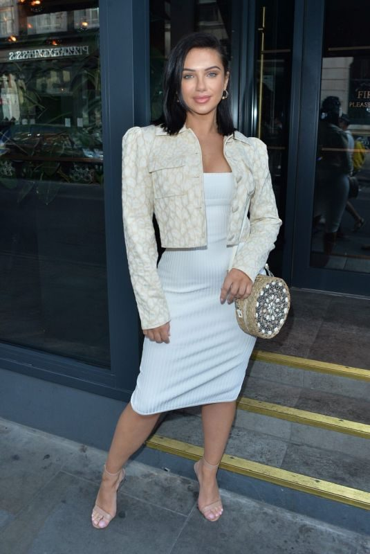 ALEXANDRA CANE Out and About in London 09/21/2019