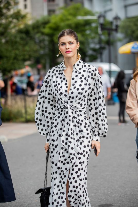 ALEXANDRA DADDARIO Out and About in New York 09/09/2019