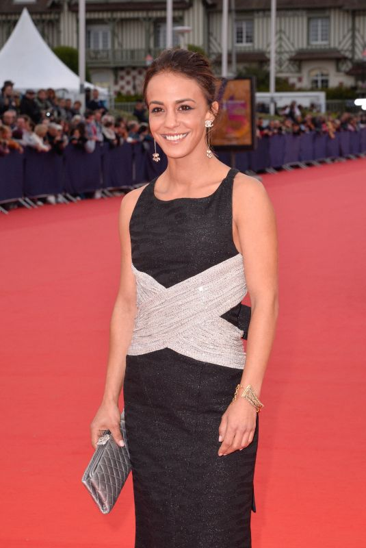 ALICE BELAIDI at Music of My Life Premiere at 45th Deauville American Film Festival 09/07/2019