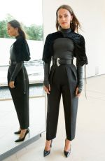 ALICIA VIKANDER at LVMH Young Fashion Designer Prize in Paris 09/04/2019