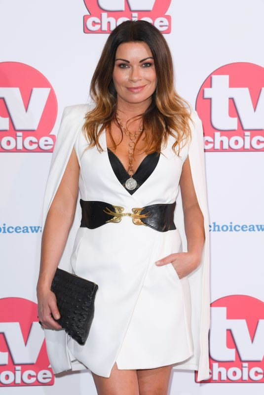 ALISON KING at TV Choice Awards in London 09/09/2019