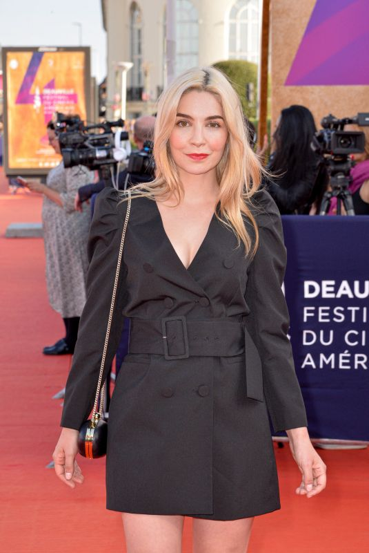 ALIX BENEZECH at 45th Deauville American Film Festival Closing Ceremony 09/14/2019