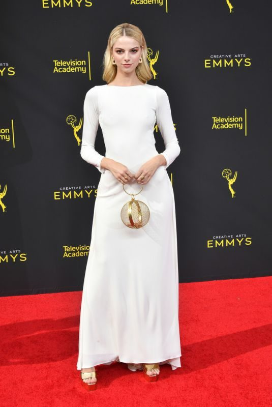 ALLIE MARIE EVANS at 2019 Creative Arts Emmy Awards in Los Angeles 09/14/2019