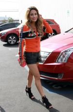 ALLY BROOKE Arrives at Dancing with the Stars Rehearsal in Hollywood 09/10/2019
