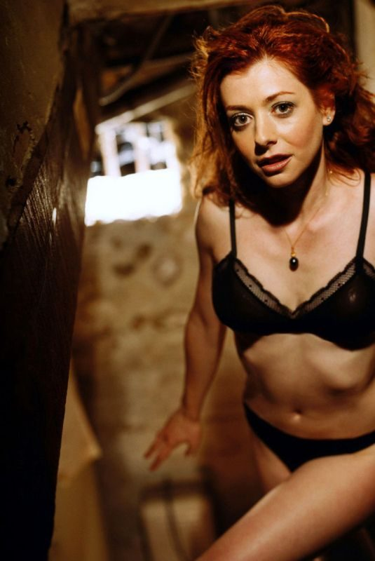 ALYSON HANNIGAN in FHM Magazine, June 2003