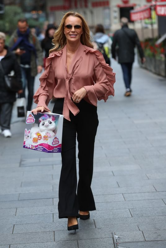 AMANDA HOLDEN Out and About in London 09/06/2019