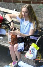 AMANDA SEYFRIED on the Set of A Mouthful of Air in New York 09/24/2019