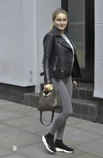AMBER DAVIES Out and About in Manchester 09/18/2019