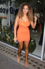 AMBER GILL at Sure Women's Everyday Gym in London 09/11/2019