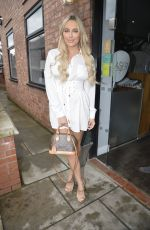 AMBER TURNER Out and About in Manchester 09/02/2019