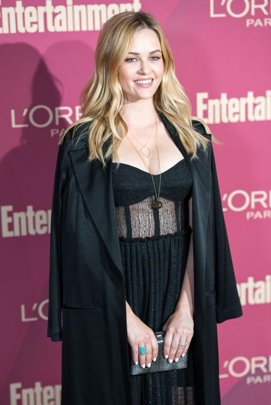 AMBYR CHILDERS at 2019 Entertainment Weekly and L'Oreal Pre-emmy Party in Los Angeles 09/20/2019