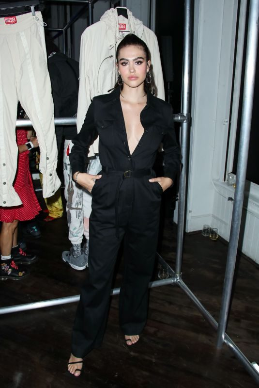AMELIA HAMLIN at Diesel Red Tag x A-cold-wall Dinner in New York 09/09/2019