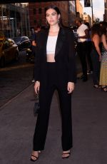 AMELIA HAMLIN at E!, Elle, and Img NYFW Kick-off Party in New York 09/04/2019