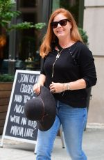 AMY ADAMS Leaves Her Hotel in New York 09/09/2019
