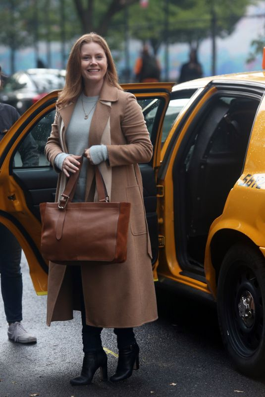 AMY ADAMS on the Set of The Woman in the Window in New York 09/27/2019