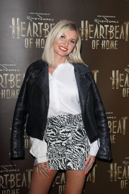 AMY HART at The Heartbeat of Home Press Night in London 09/11/2019