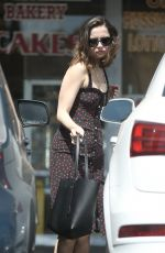 ANA DE ARMAS Out and About in Beverly Hills 09/17/2019