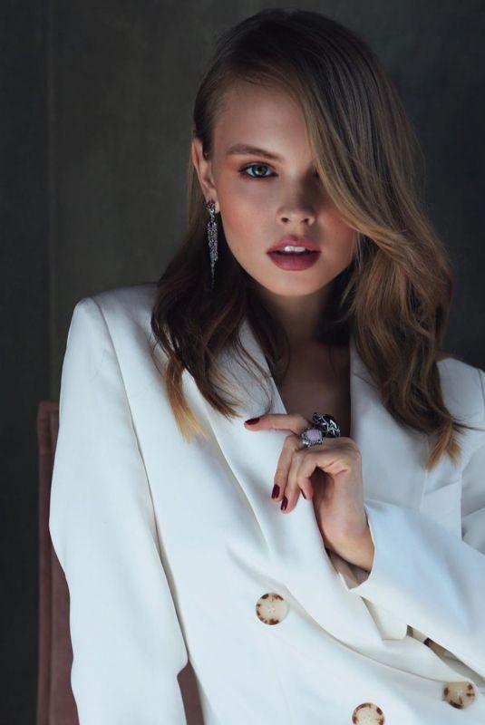 ANASTASIYA SCHEGLOVA at a Photoshoot, 2019