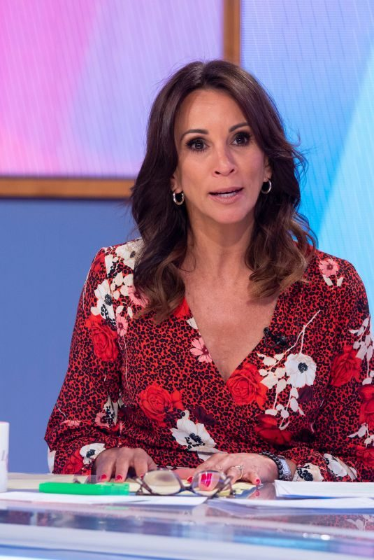 ANDREA MCLEAN at Loose Women TV Show in London 09/19/2019