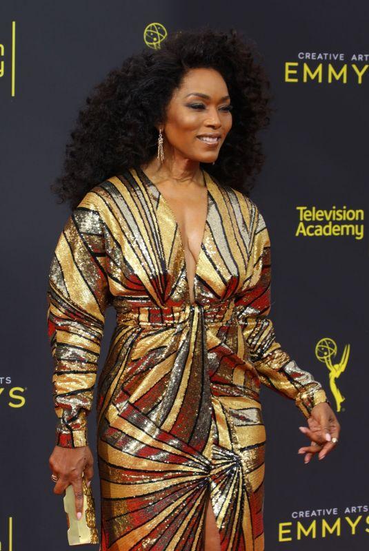ANGELA BASSETT at 2019 Creative Arts Emmy Awards in Los Angeles 09/14/2019