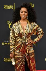 ANGELA BASSETT at 2019 Creative Arts Emmy Awards in Los Angeles 09/14/2019
