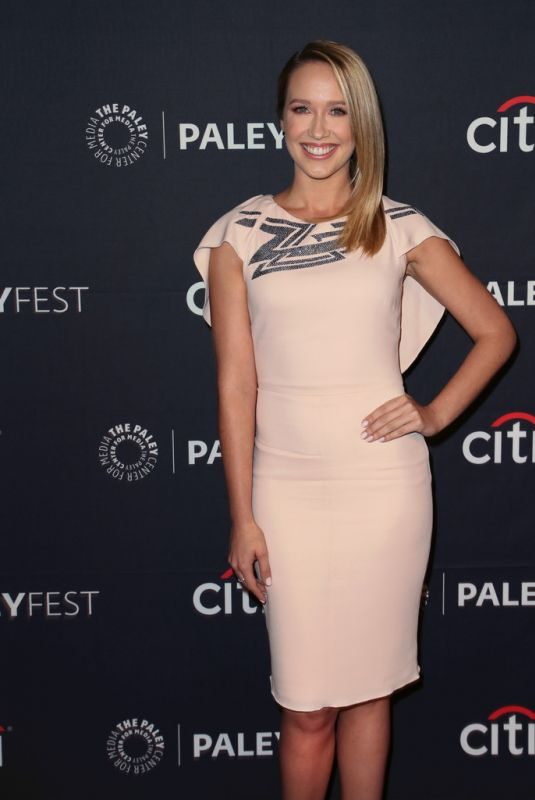 ANNA CAMP at 2019 Paleyfest Fall TV Previews in Beverly Hills 09/05/2019