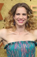 ANNA CHLUMSKY at 71st Annual Emmy Awards in Los Angeles 09/22/2019