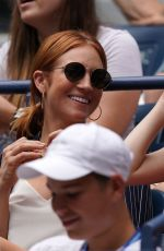 ANNA KENDRICK and BRITTANY SNOW at US Open 2019 in New York 09/01/2019
