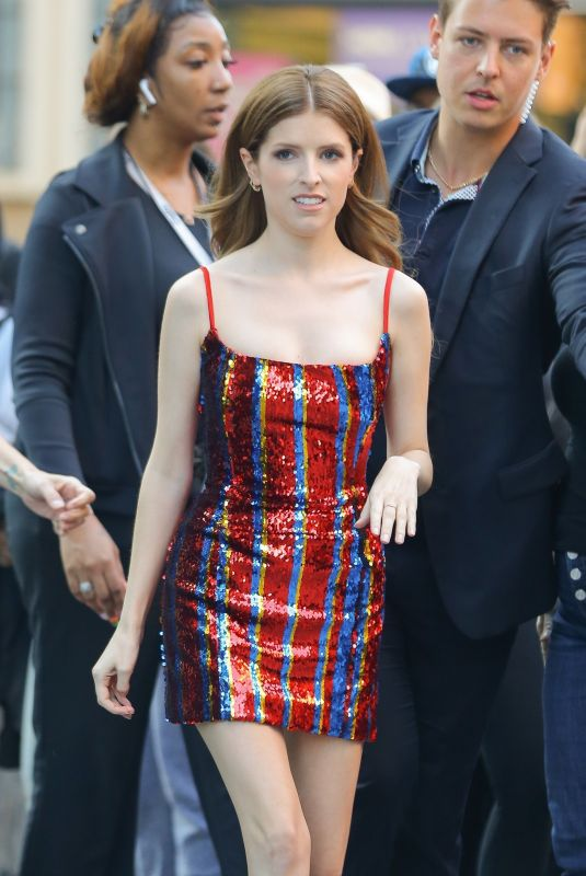 ANNA KENDRICK Out in New York 09/25/2019