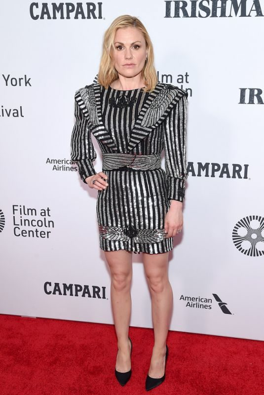 ANNA PAQUIN at The Irishman Screening at 57th New York Film Festival 09/27/2019