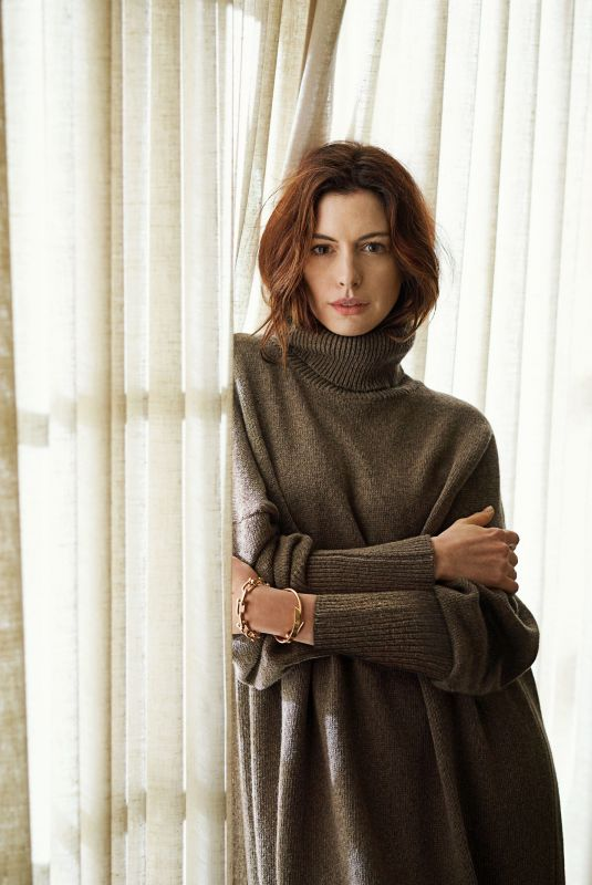 ANNE HATHAWAY for Architectural Digest, October 2019