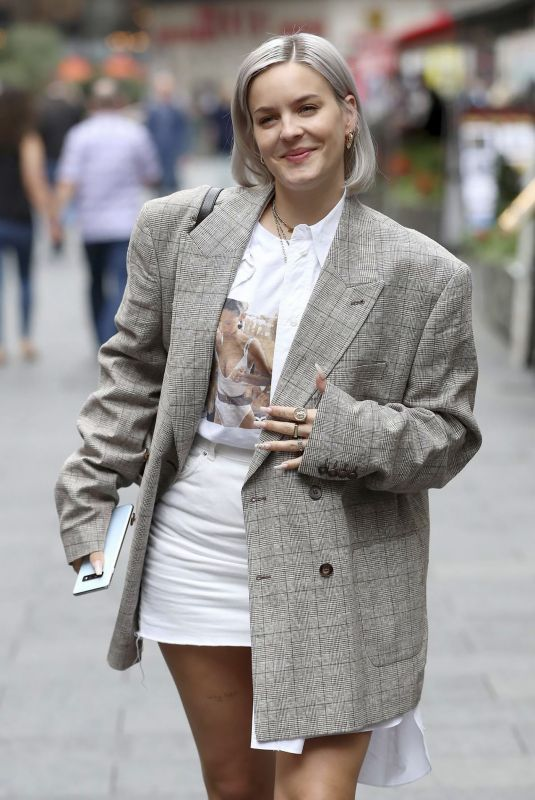 ANNE MARIE Leaves Global Radio in London 09/04/2019