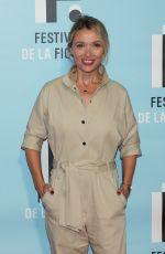 ANNE MARIVIN at 21st LA Rochelle Fiction Festival Opening in France 09/11/2019